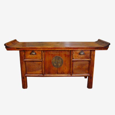 Small Low Oriental Chinese Alter Table