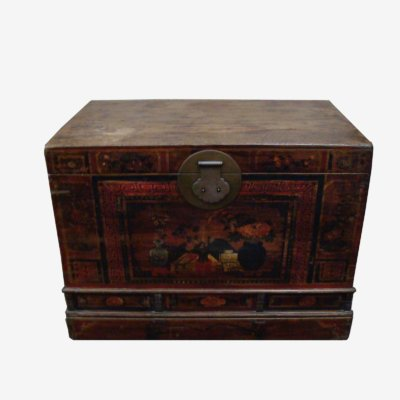 Traditional Chinese Chest/Trunk With Paintings