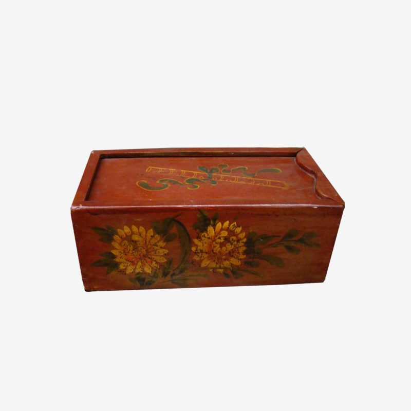 Traditional Chinese Box With Hand Painting
